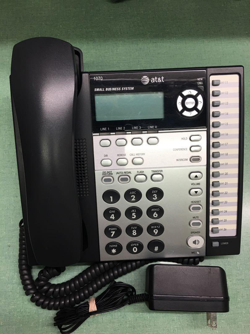 AT&T 1070 Business Telephone System