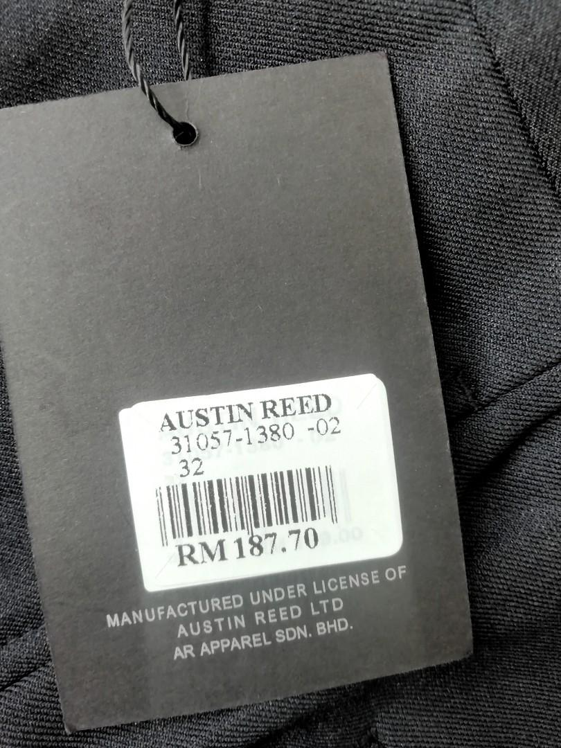 Authentic Austin Reed Business Wear A K A Black Slack Pants Men S Fashion Clothes Bottoms On Carousell