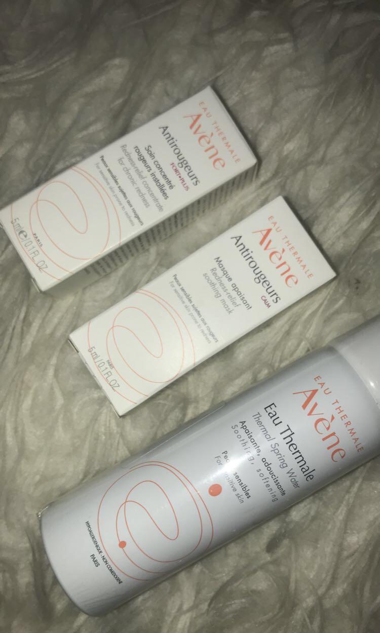 Avene for sensitive skin (set)