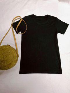 Black Ribbed Shirt