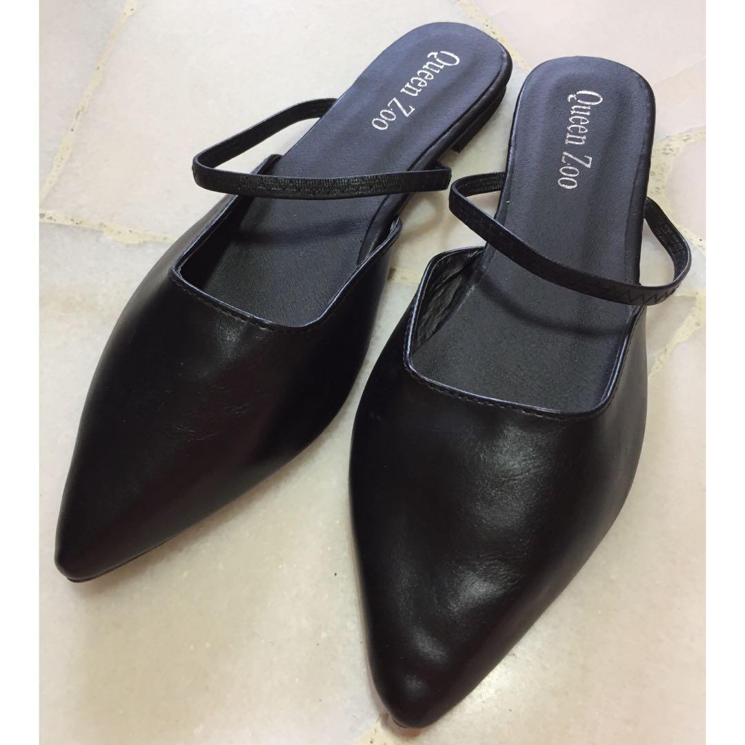 Ballet Flats Ladies Casual shoes, BLACK