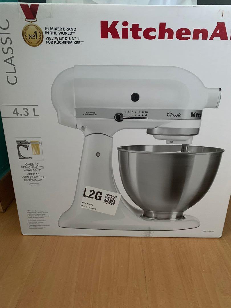 Bnib Kitchenaid Tilt Head Stand Mixer 4 3l K45ss Home Appliances Kitchenware On Carousell
