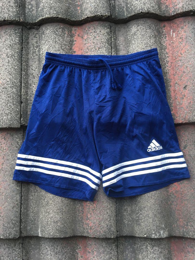 Celana Adidas Entrada/Adidas Entrada Meshort Logo Navy Blue