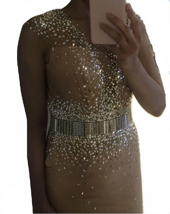 Couture pageant gown