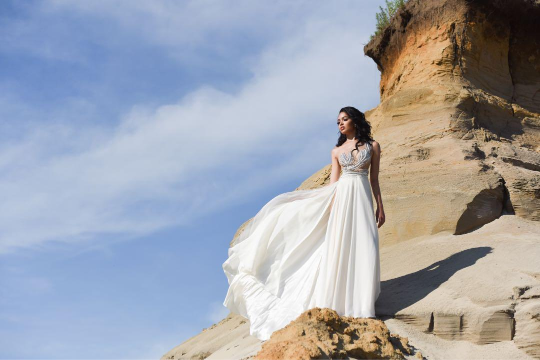 Custom couture pageant gown