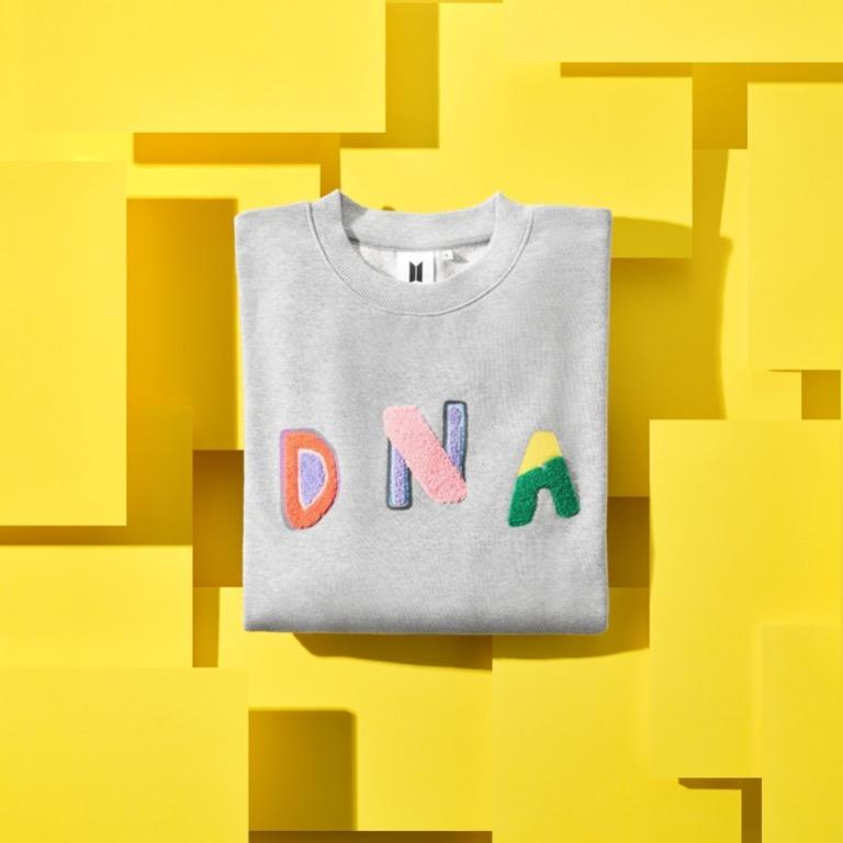 DNA sweatshirt bts (need to find!)