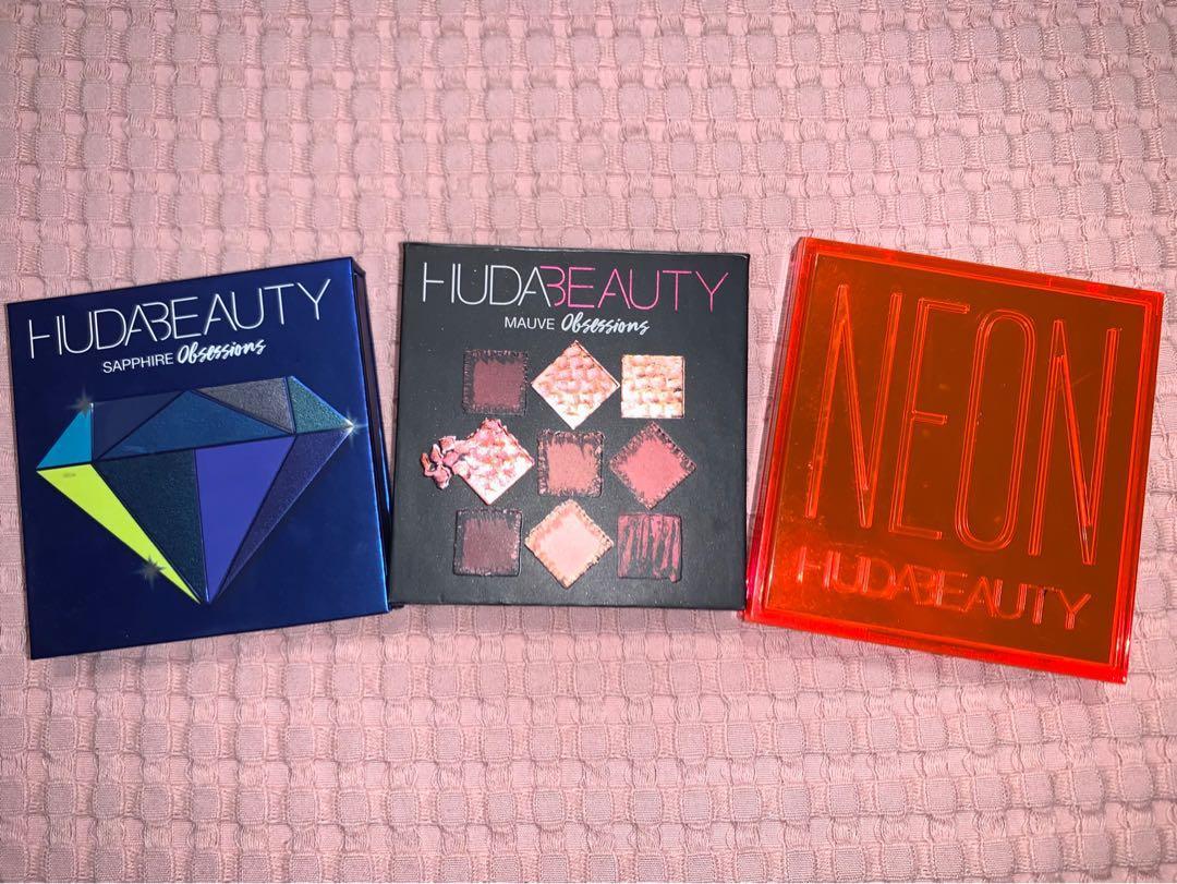 Huda Obsessions Palettes