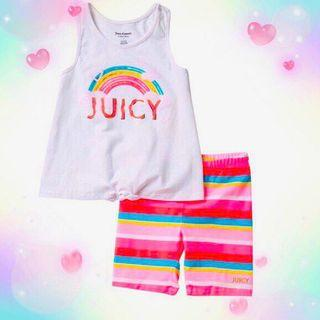 Juicy Couture Baby Girl's 2 pieces short set