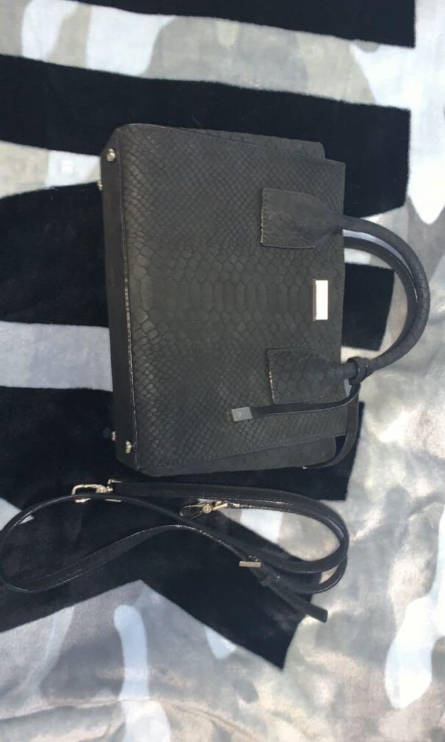 Katespade black small medium purse