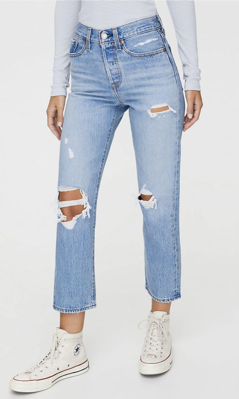 Levi's Wedgie Straight Jeans Size 24 and 25