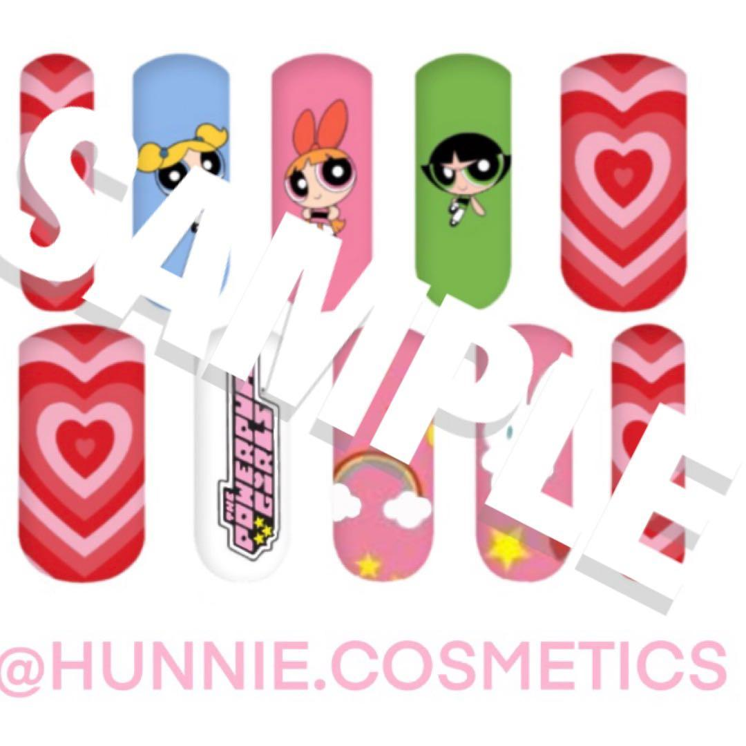 Nail decals- powerpuff girls