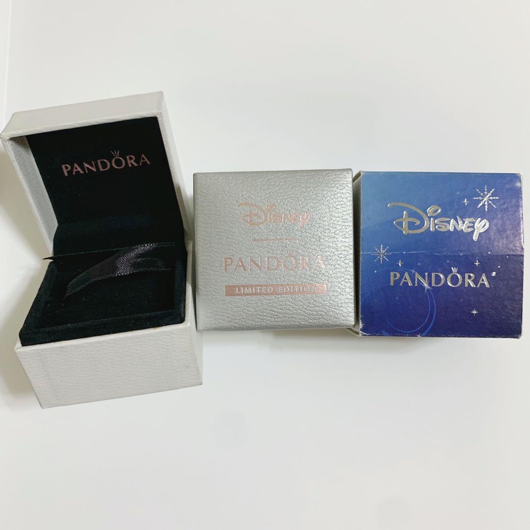 賣場購物即贈送🔝Pandora 串珠盒/戒指盒/飾品盒/小白盒 潘朵拉迪士尼樂園限定