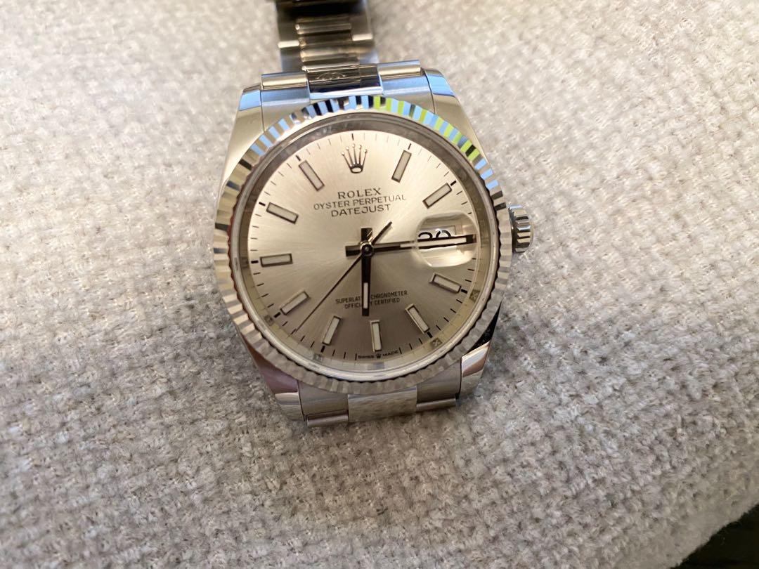 Pre-owned 2020 Rolex Datejust 36mm