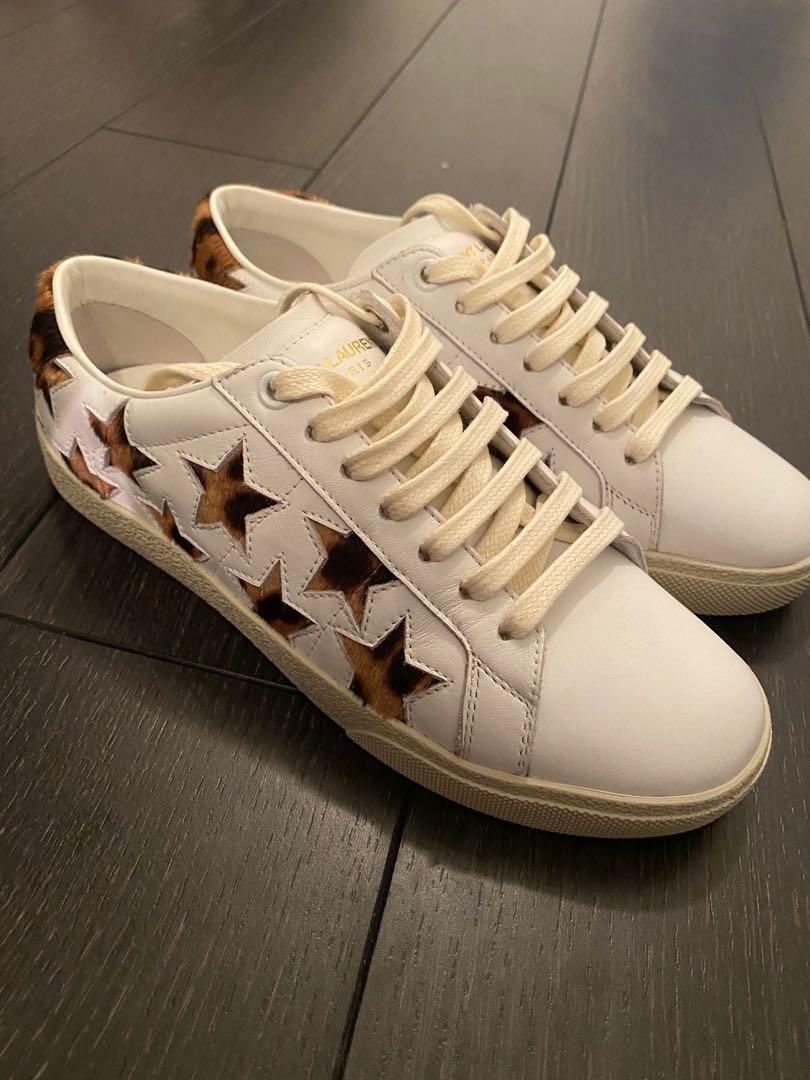 SAINT LAURENT white sneakers