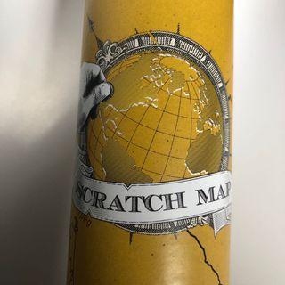 Scratch map 🌎🌍🌏