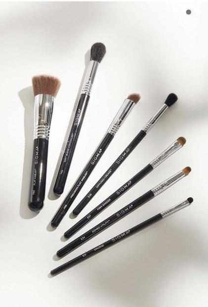 Sigma Best of Beauty 7 piece brush set