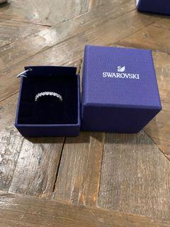 Swarovski Silver-Plated Ring