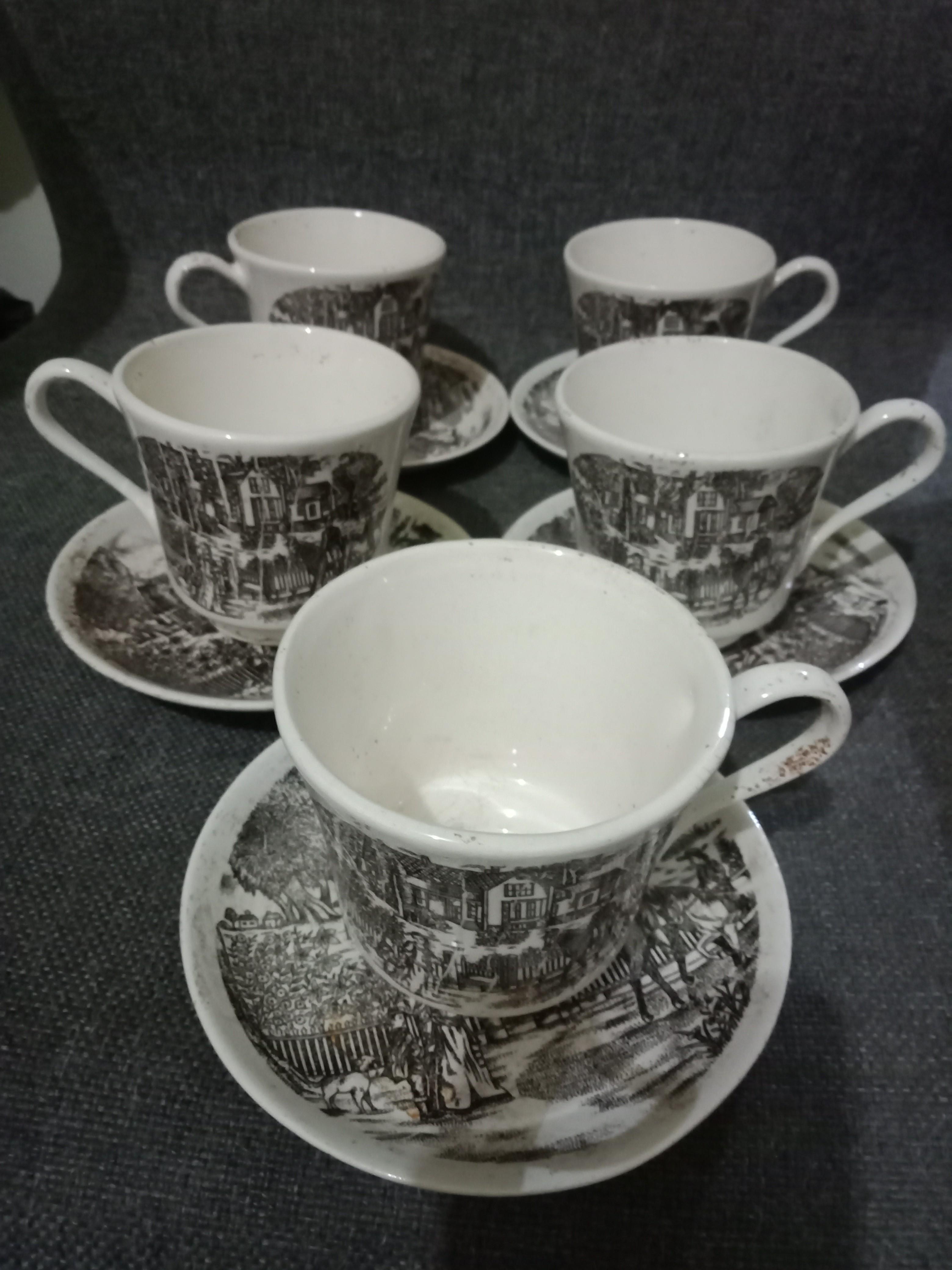Tea set antik
