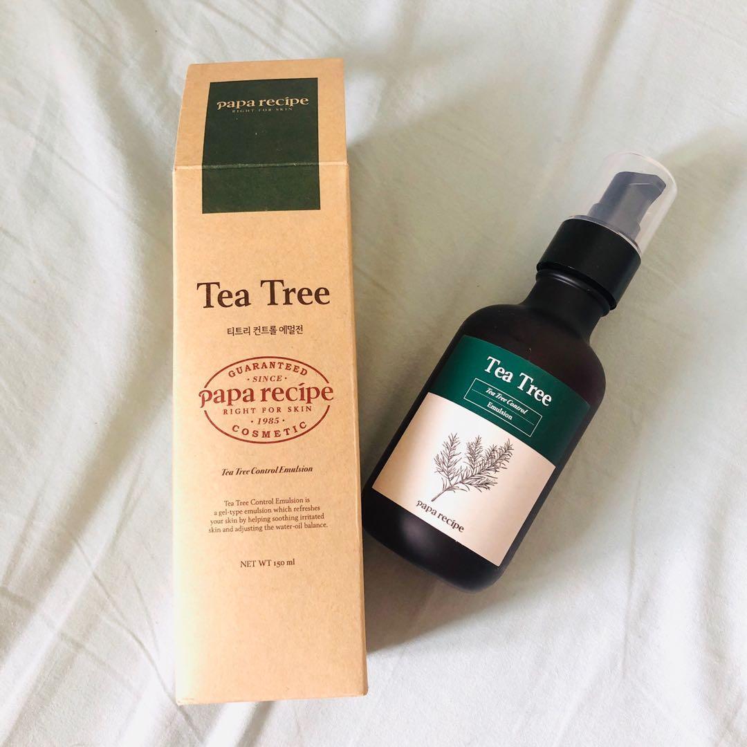 Tea Tree Control Emulsion by Papa Recipe