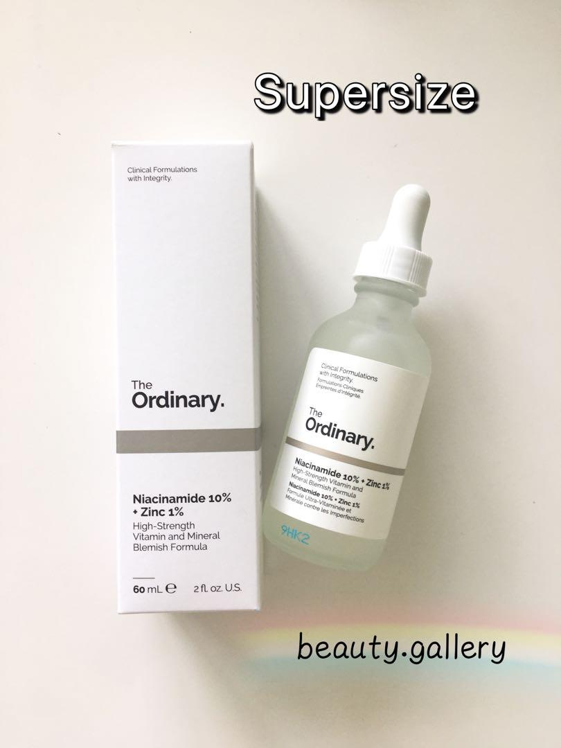 The Ordinary Niacinamide 10 Zinc 1 60 Ml Health Beauty Face Skin Care On Carousell