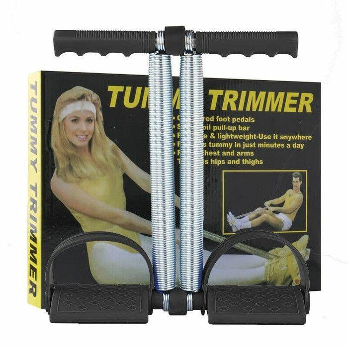 Tummy Trimmer Double ( Black )