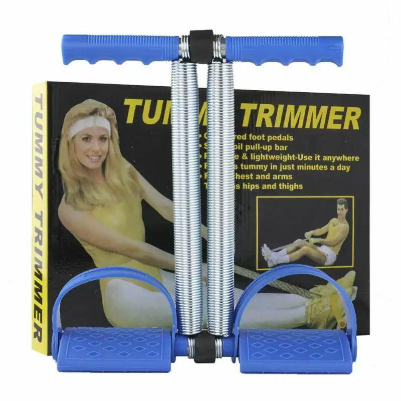 Tummy Trimmer Double ( Blue)