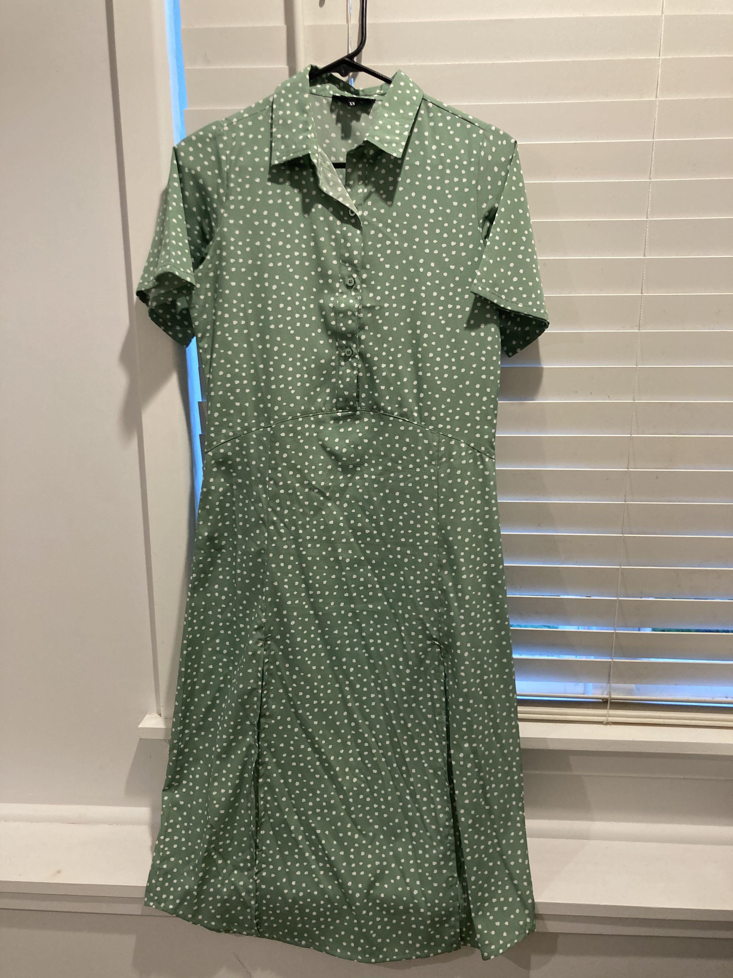 Wednesday's girl midi dress