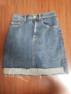 Wilfred Free Jean Skirt Size 2