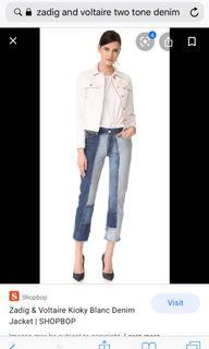 Zadig and Voltaire Jeans
