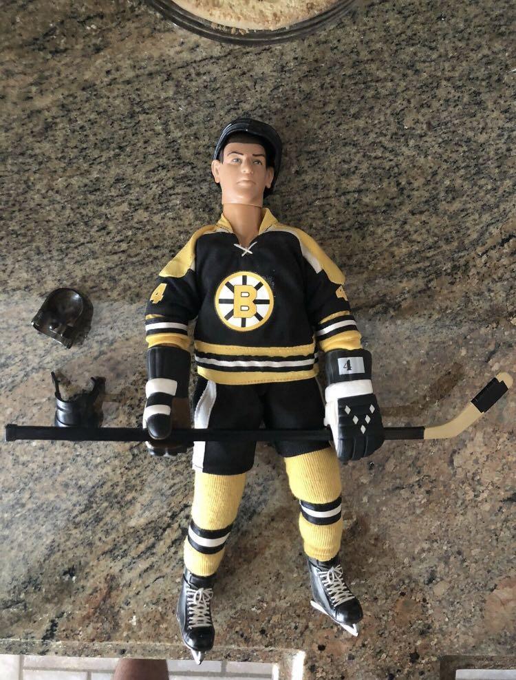 "1993 Hasbro Bobby Orr 12"" Action Figure Boston Bruins Hockey"