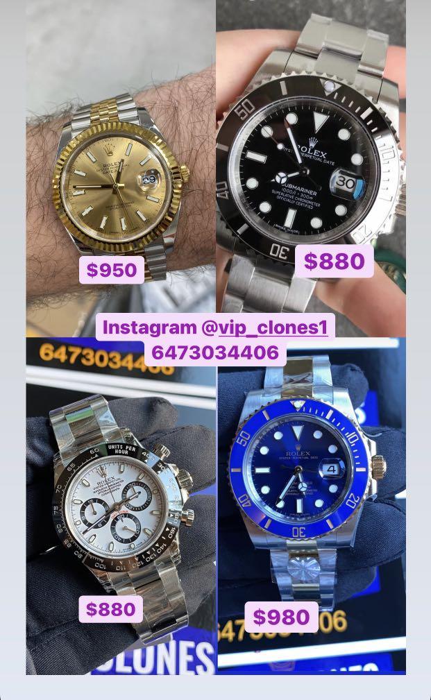 $400  and up copy watch Rolex watch omega watch Hublot watch
