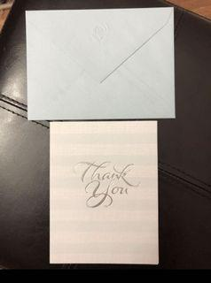 """4 """"Thank You"""" American Greeting Cards"""