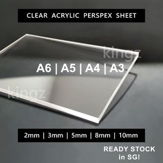 Acrylic Sheet Cut To Size Design Craft Craft Supplies Tools On Carousell