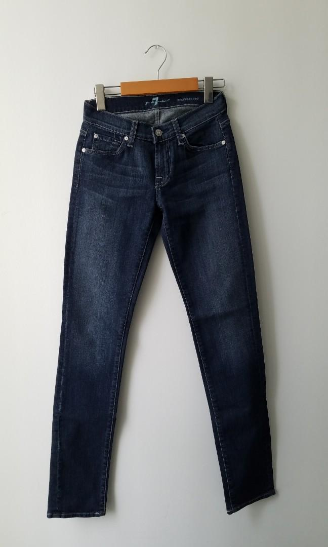 Aritzia 7 for all Mankind Skinny Jeans Size 26