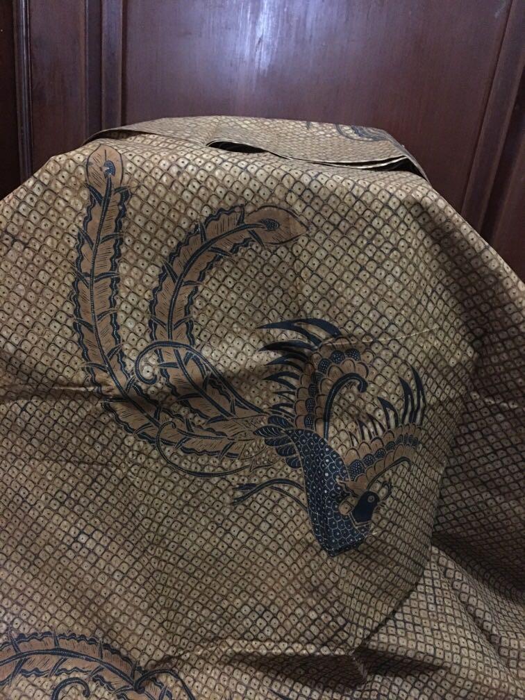 Batik Tulis lawas motif Cendrawasih