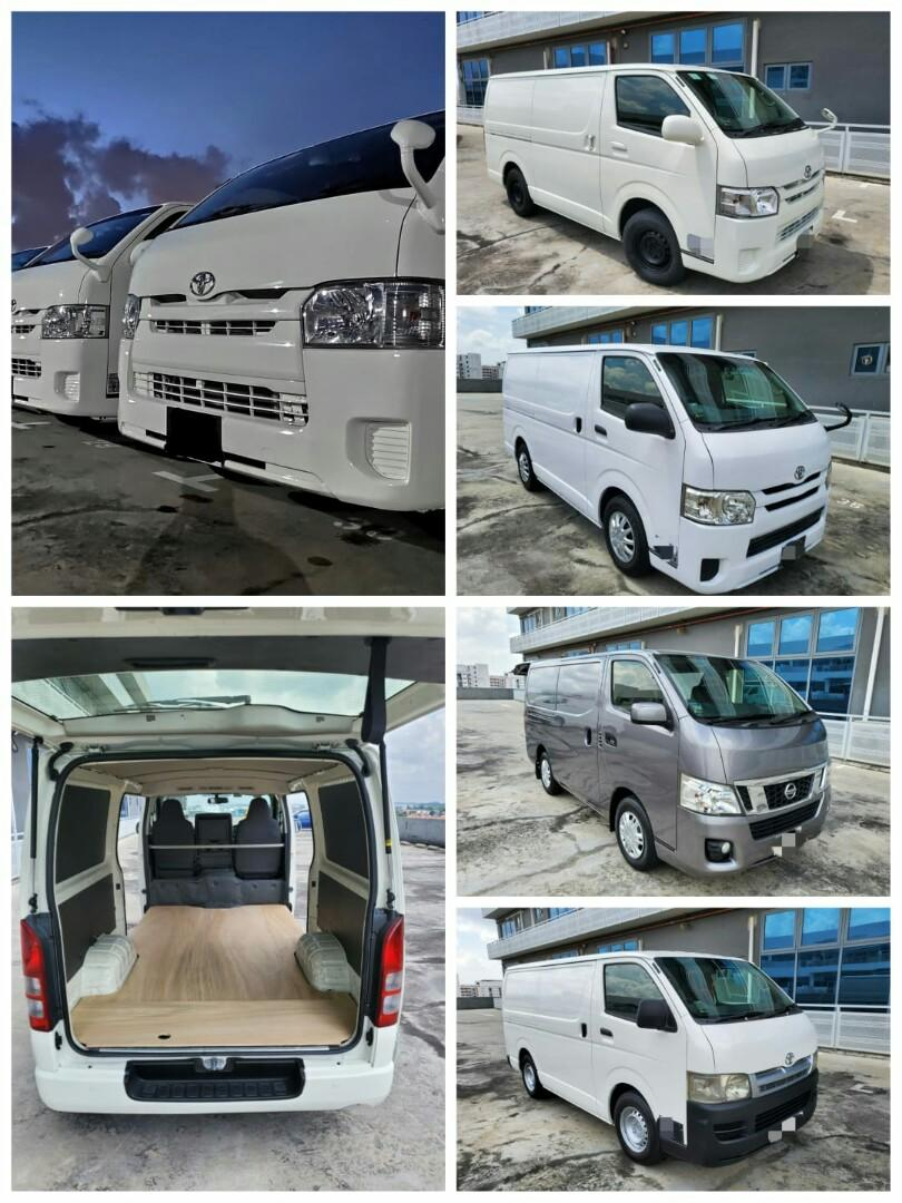 Brand New & Used Vans for rent