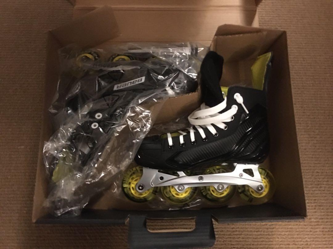 Brand new Bauer RS rollerblades
