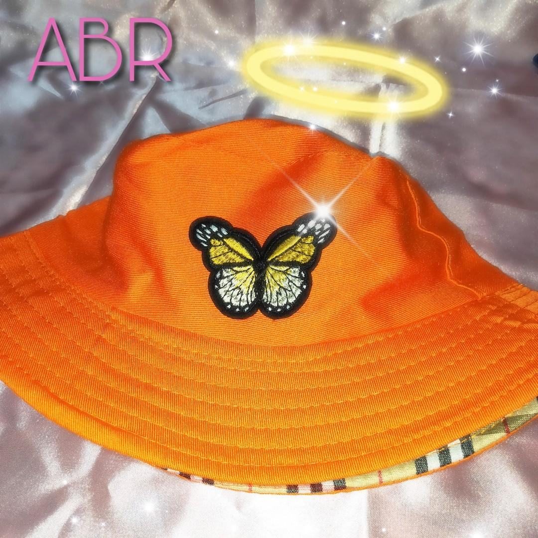 Butterfly Embroidery Bucket Hat Women S Fashion Accessories Caps Hats On Carousell