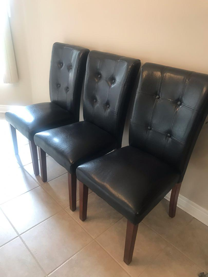 Chairs leather like