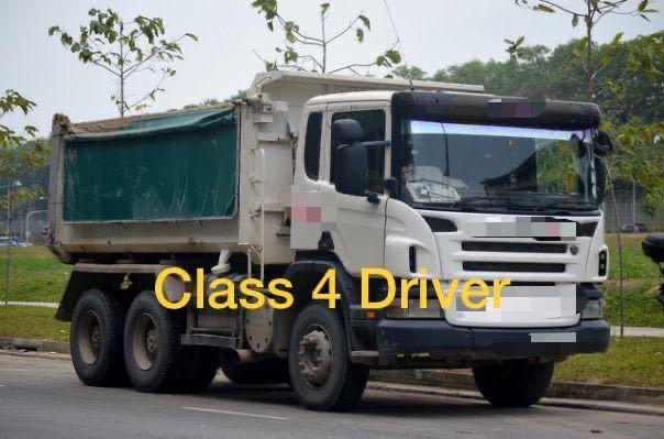 Class 4 Lorry Driver
