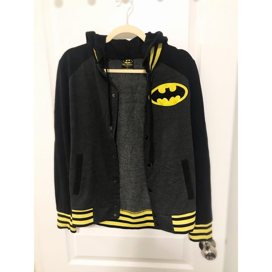 DC Comics Batman Varsity Hoodie (Authentic)
