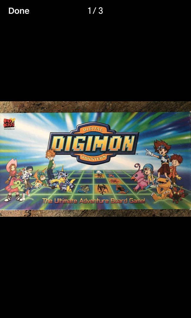 Digimon Ultimate Adventure Board Game Rare Complete Digital Monsters
