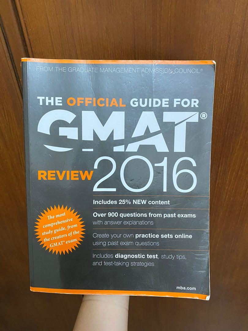 GMAT 2016