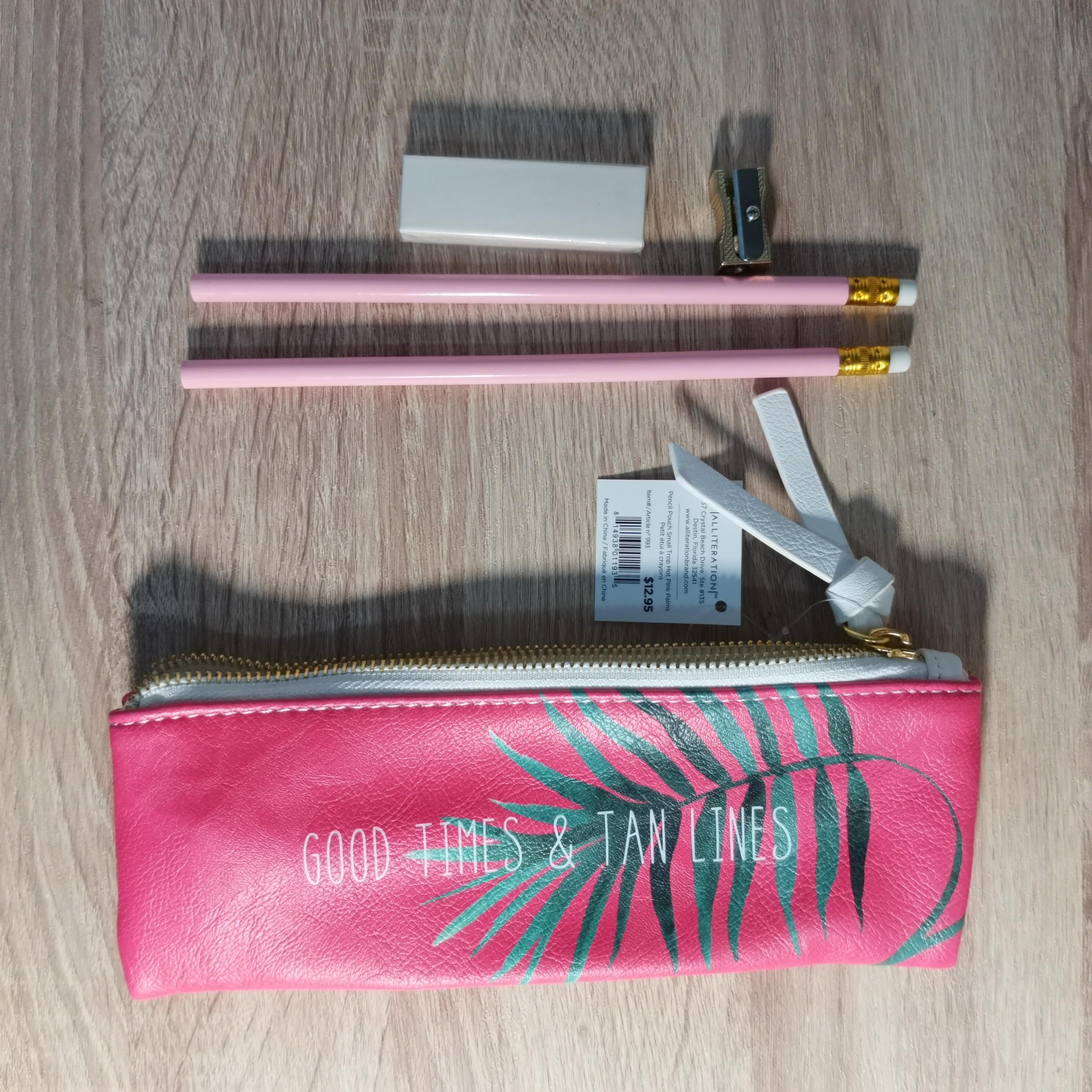 Indigo Pencil Case Set