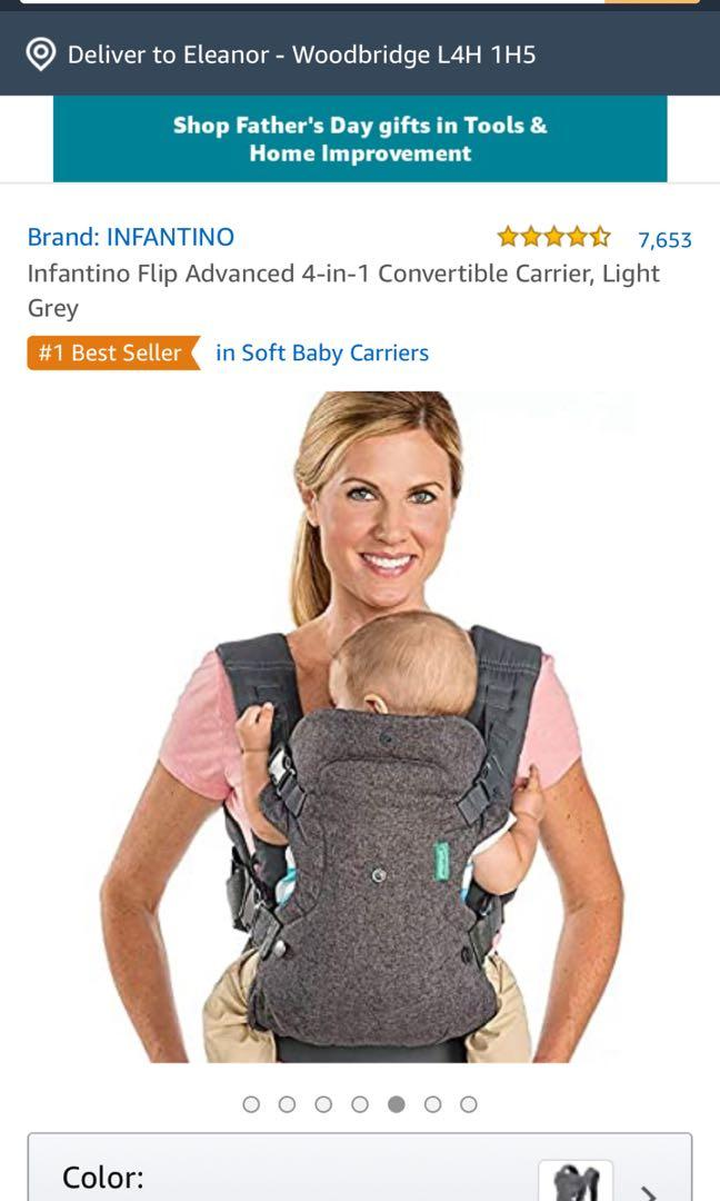 INFANTINO 4 IN 1 CONVERTABLE CARRIER