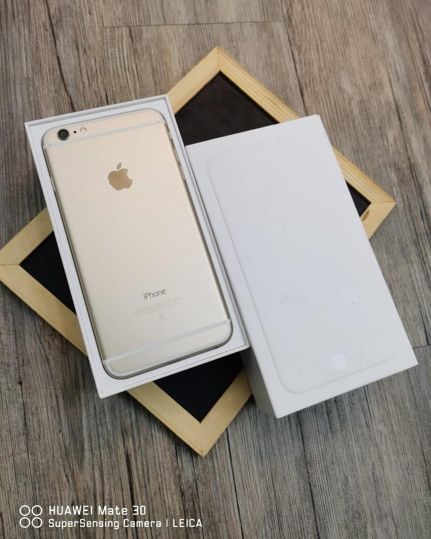 IPhone 6 Plus 64G 香檳金 二手超極新