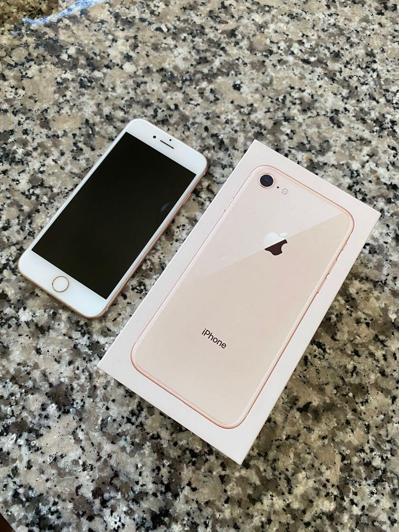 iPhone 8, Rosegold, 64 GB