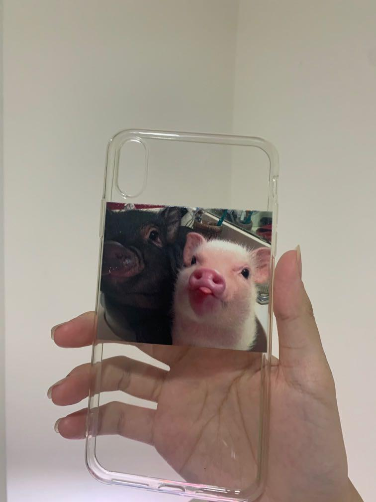 iPhone XS max 豬豬手機殼