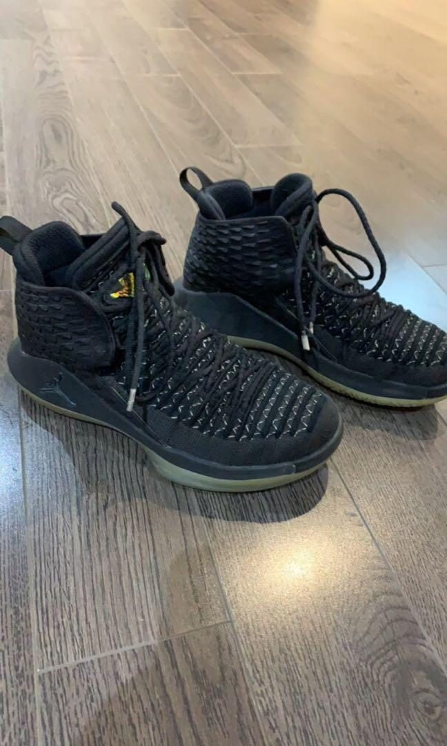 Jordan XXXll black cat size 4