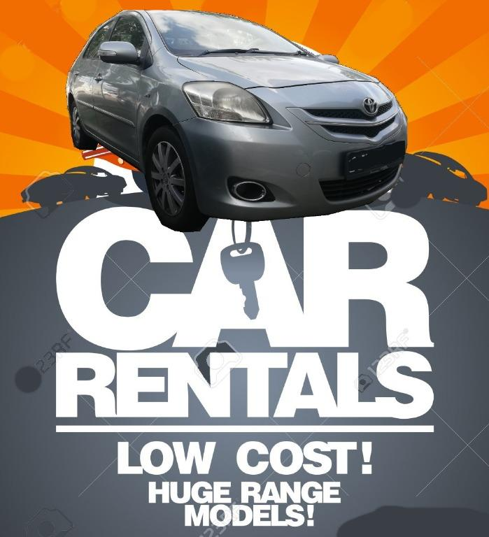 ⭐Low Cost Car Rental Toyota Vios/Altis⭐Cheap and Budget